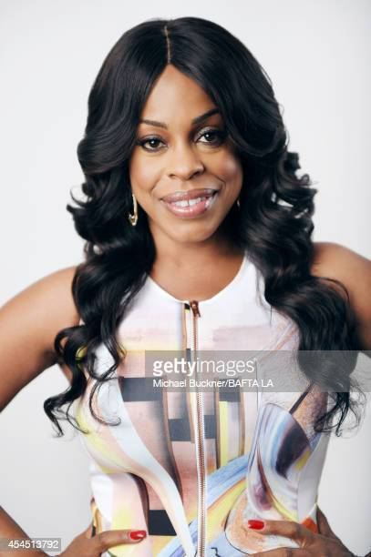 Niecy Nash poses for a portrait at the BAFTA luncheon on August 23 2014 in Los Angeles California