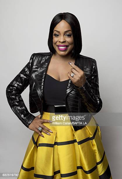 Niecy Nash poses for a portraits at the BAFTA Tea Party at Four Seasons Hotel Los Angeles at Beverly Hills on January 7 2017 in Los Angeles California