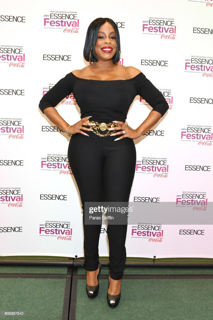 Niecy Nash poses in the press room at the 2017 ESSENCE Festival presented by Coca-Cola at Ernest N. Morial Convention Center on July 1, 2017 in New Orleans, Louisiana.