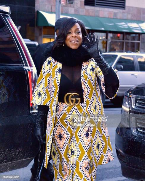 Niecy Nash seen out and about in Manhattan on December 14 2017 in New York City