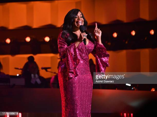 Niecy Nash speaks onstage at Black Girls Rock 2019 Hosted By Niecy Nash at NJPAC on August 25 2019 in Newark New Jersey