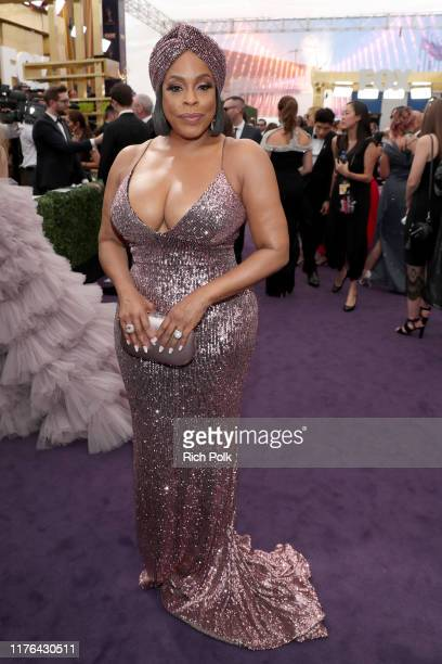 Niecy Nash walks the red carpet during the 71st Annual Primetime Emmy Awards on September 22 2019 in Los Angeles California