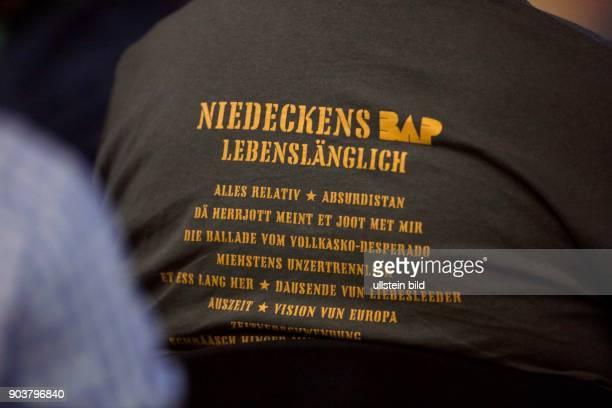 Niedeckens BAP 'Lebenslänglich'Jubiläumstour Michael Nass Ulrich Rode Wolfgang Niedecken Rhani Krija Sönke Reich Anne de Wolff und Werner Kopal...
