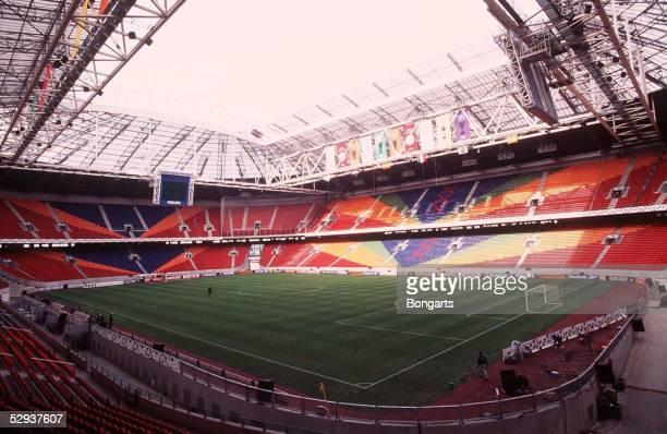 FUSSBALL niederlaendische Liga 96/97 AJAX AMSTERDAM 090497 AMSTERDAM ARENA/STADION/FUSSBALLSTADION
