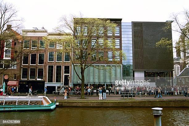 Niederlande Holland Amsterdam Anne Frank Huis Haus an der Prinsengracht