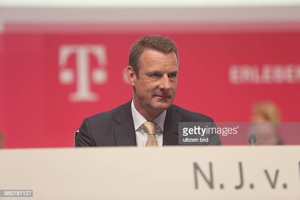 Niek Jan van Damme Deutsche Telekom Hauptversammlung Lanxess Arena