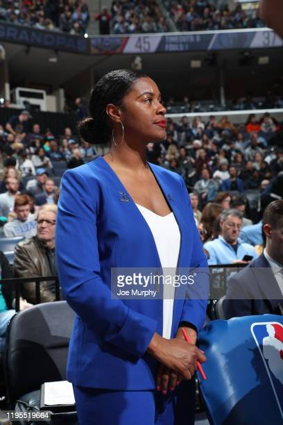 Niele Ivey of the Memphis Grizzlies looks on during the game against the New Orleans Pelicans on January 20 2020 at FedExForum in Memphis Tennessee...