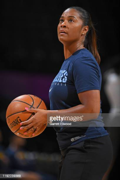 Niele Ivey of the Memphis Grizzlies seen prior to the game against the Denver Nuggets on December 28 2019 at the Pepsi Center in Denver Colorado NOTE...