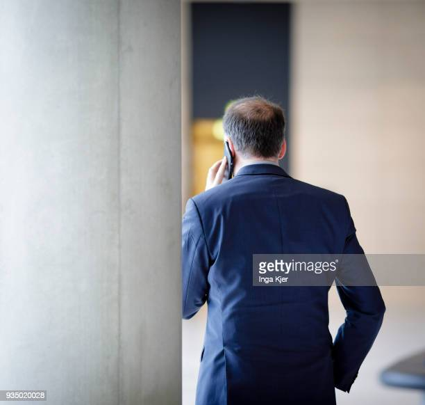 Niels Annen German Social Democrats Minister of State at the Federal Foreign Office captured on March 20 2018 in Berlin Germany