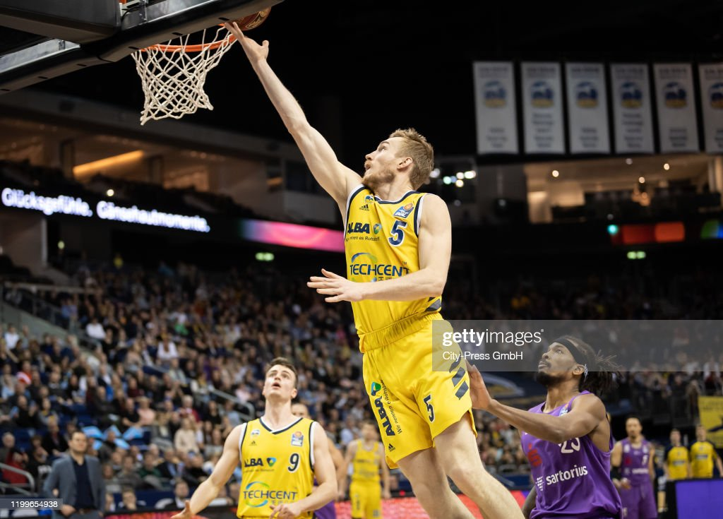 Niels Giffey Of Alba Berlin During The Basketball Bundesliga Match News Photo Getty Images