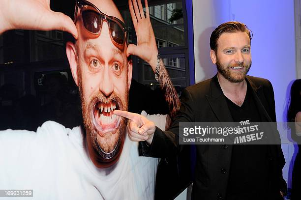 Niels Ruf attends the Niels Ruf Art Exhibition at Camera Works on May 29, 2013 in Berlin, Germany.