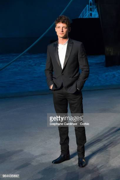 Niels Schneider attends the Chanel Cruise 2018/2019 Collection at Le Grand Palais on May 3 2018 in Paris France