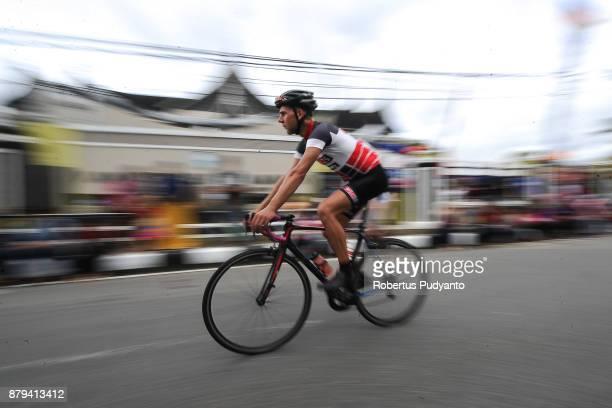 Niels Van Der Pijl of Netherlands and PCS Team Procyclingstatscom Laos competes during stage 9 of the Tour de Singkarak 2017 PasamanBukittinggi 1172...