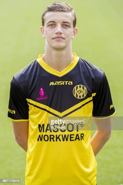 Niels Verburgh during the team presentation of Roda jc on July 12 2018 at the Parkstad Limburg stadium in Kerkrade The Netherlands