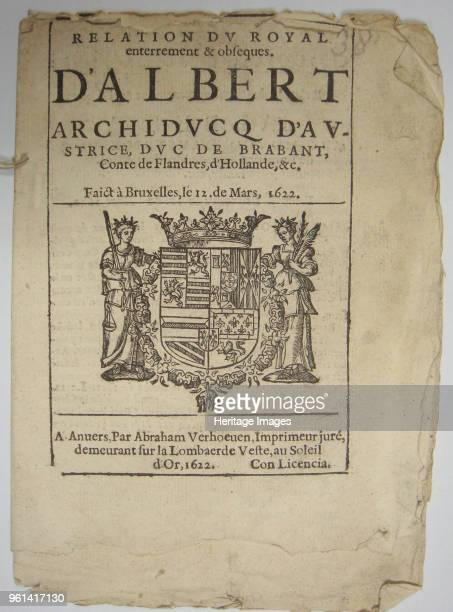 Nieuwe Tijdingen 1622 Found in the Collection of Universiteitsbibliotheek Gent