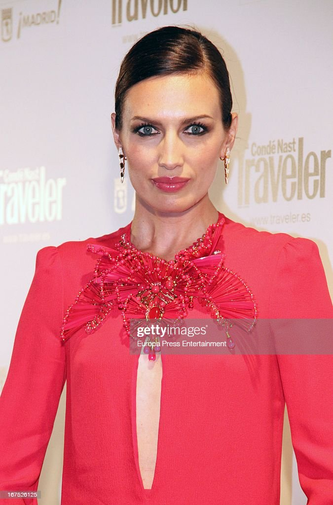 Nieves Alvarez attends Conde Nast Traveler 2013 Awards at the Jardines de Cecilio Rodriguez on April 25, 2013 in Madrid, Spain.