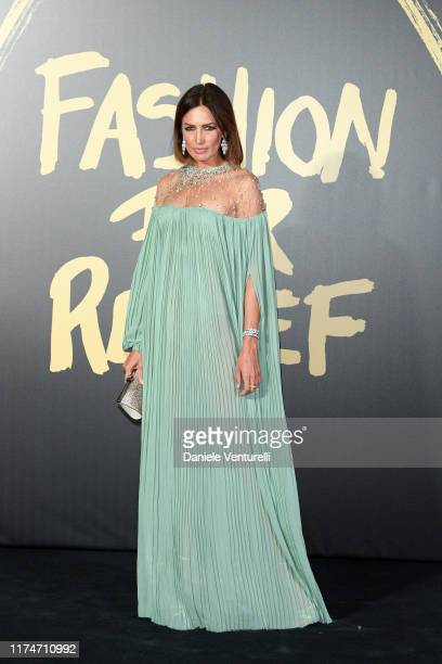Nieves Alvarez attends Fashion For Relief London 2019 at The British Museum on September 14 2019 in London England