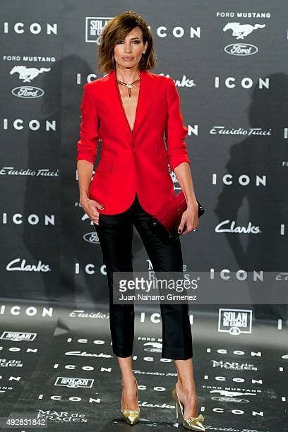 Nieves Alvarez attends fashion 'ICON Awards Men of the Year' at Casa Velazquez on October 15 2015 in Madrid Spain