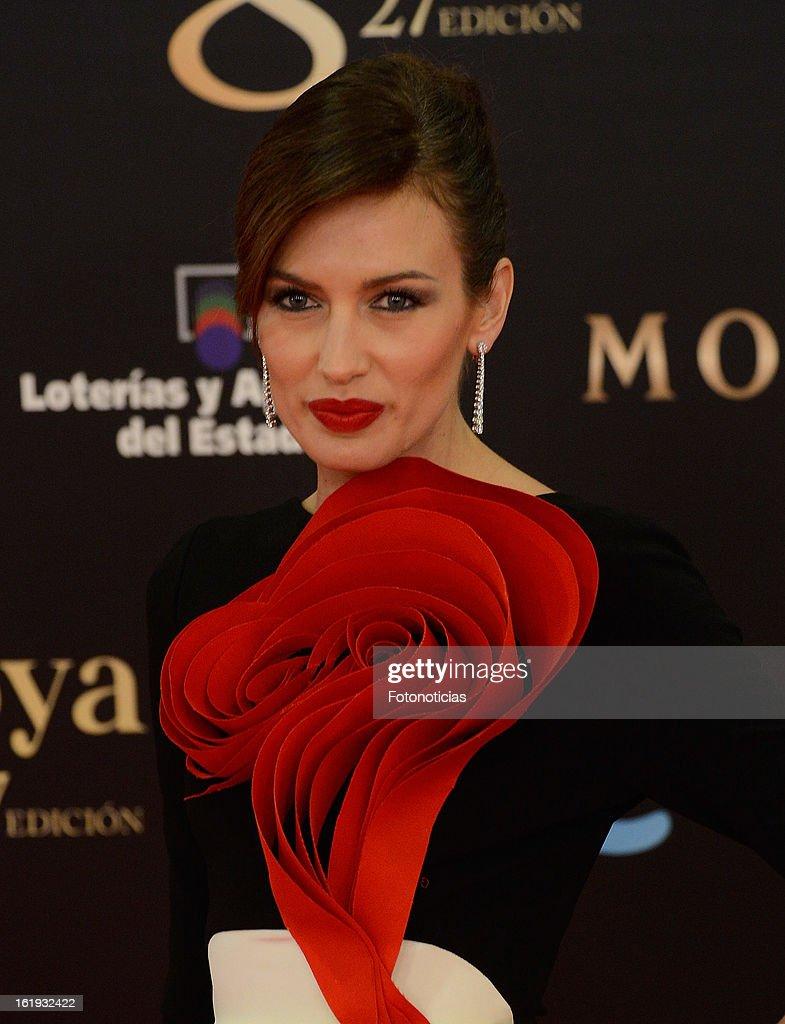 Watch Nieves alvarez goya cinema awards at the marriott auditorium in madrid video