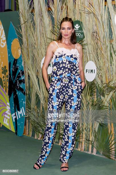 Nieves Alvarez attends 'NV' fashion show during FIMI at Pabellon de Cristal on June 23 2017 in Madrid Spain