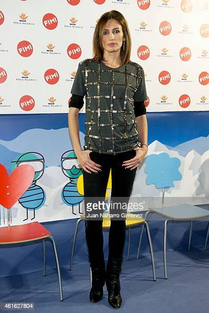 Nieves Alvarez attends 'NV' photocall at the FIMI Madrid Arena 2015 on January 16 2015 in Madrid Spain