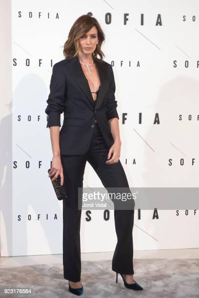 Nieves Alvarez attends Sofia Hotel inaguration on February 22 2018 in Barcelona Spain