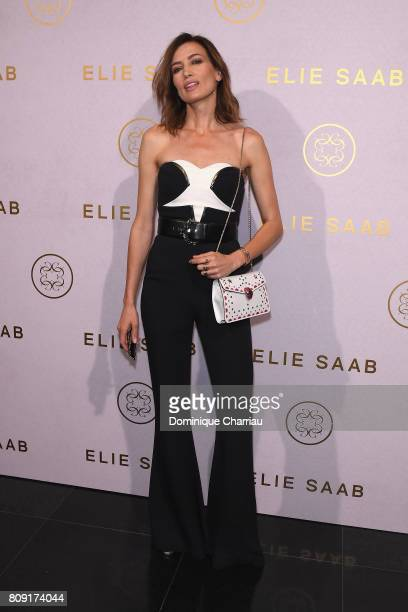 Nieves Alvarez attends the Elie Saab Haute Couture Fall/Winter 20172018 show as part of Paris Fashion Week on July 5 2017 in Paris France