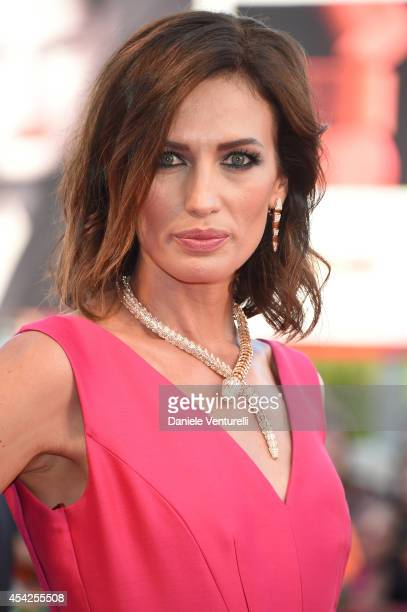 Nieves Alvarez attends the Opening Ceremony and 'Birdman' premiere during the 71st Venice Film Festival at Palazzo Del Cinema on August 27 2014 in...