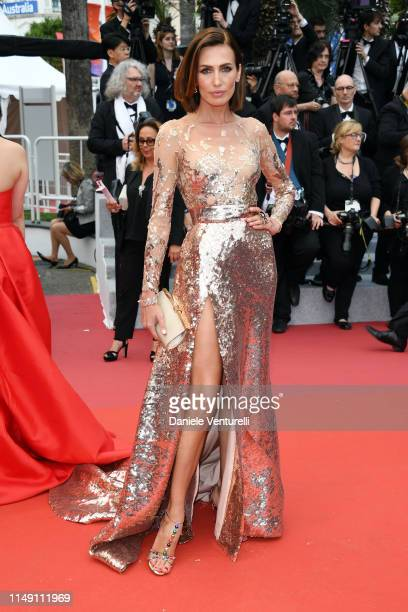 """Nieves Alvarez attends the opening ceremony and screening of """"The Dead Don't Die"""" during the 72nd annual Cannes Film Festival on May 14, 2019 in..."""