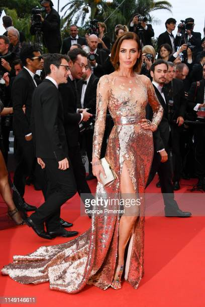Nieves Alvarez attends the opening ceremony and screening of The Dead Don't Die during the 72nd annual Cannes Film Festival on May 14 2019 in Cannes...