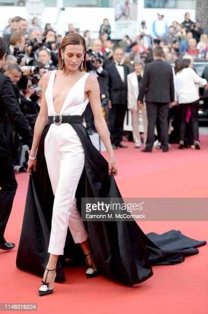 Nieves Alvarez attends the screening of Les Miserables during the 72nd annual Cannes Film Festival on May 15 2019 in Cannes France