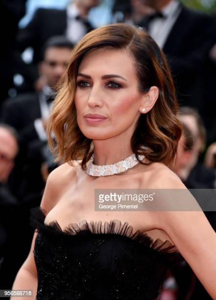 Nieves Alvarez attends the screening of Yomeddine during the 71st annual Cannes Film Festival at Palais des Festivals on May 9 2018 in Cannes France