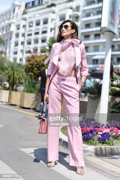 Nieves Alvarez is seen during the 71st annual Cannes Film Festival at on May 10 2018 in Cannes France