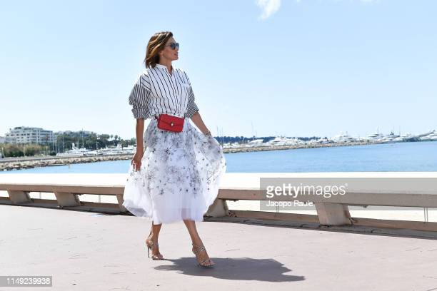 Nieves Alvarez is seen during the 72nd annual Cannes Film Festival at on May 15, 2019 in Cannes, France.
