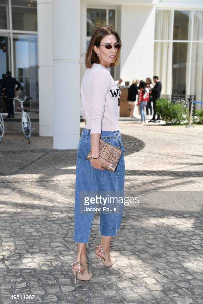Nieves Alvarez is seen during the 72nd annual Cannes Film Festival at on May 16 2019 in Cannes France