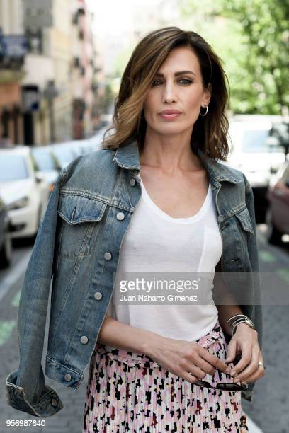 Nieves Alvarez poses during a portrait session on May 8 2018 in Madrid Spain