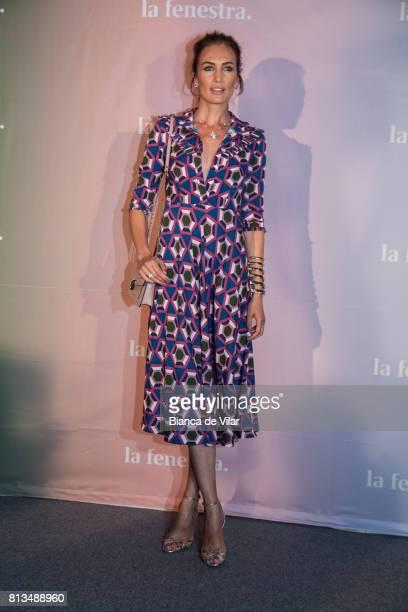 Nieves Álvarez attends 'La Fenestra' pop up showroom on July 12 2017 in Marbella Spain