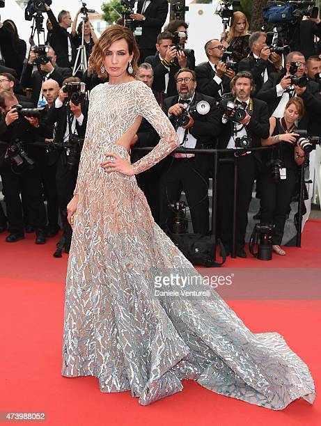 """Nievez alvares attends the """"Sicario"""" Premiere during the 68th annual Cannes Film Festival on May 19, 2015 in Cannes, France."""
