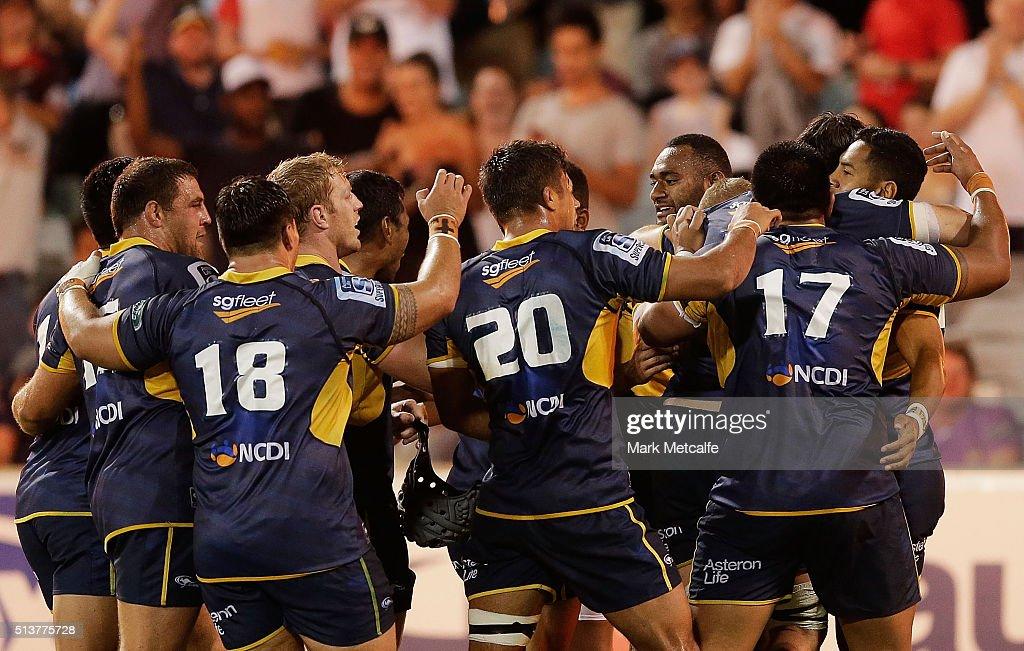 Super Rugby Rd 2 - Brumbies v Waratahs : News Photo