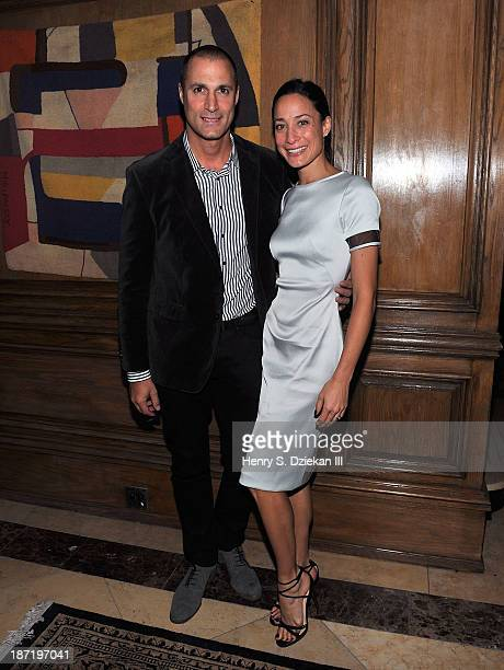 Nigel Barker and Cristen Barker attend The Cinema Society Dior Beauty screening of Thor The Dark World after party at Marlton Hotel on November 6...