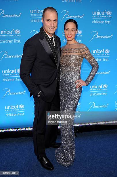 Nigel Barker and Cristen Barker attend the Tenth Annual UNICEF Snowflake Ball at Cipriani Wall Stree on December 2 2014 in New York City