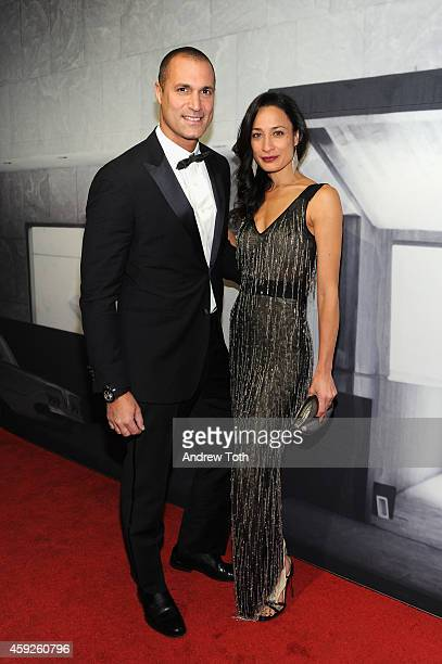 Nigel Barker and Cristen Barker attend The Whitney Museum Of American Art's 2014 Gala Studio Party at The Whitney Museum of American Art on November...