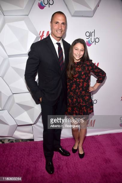 Nigel Barker and Jasmine Ines Barker attend the 2nd Annual Girl Up #GirlHero Awards at the Beverly Wilshire Four Seasons Hotel on October 13 2019 in...