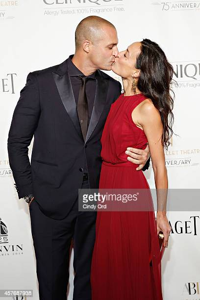 Nigel Barker and wife Cristen Barker attend the American Ballet Theatre 2014 Opening Night Fall Gala at David H Koch Theater at Lincoln Center on...