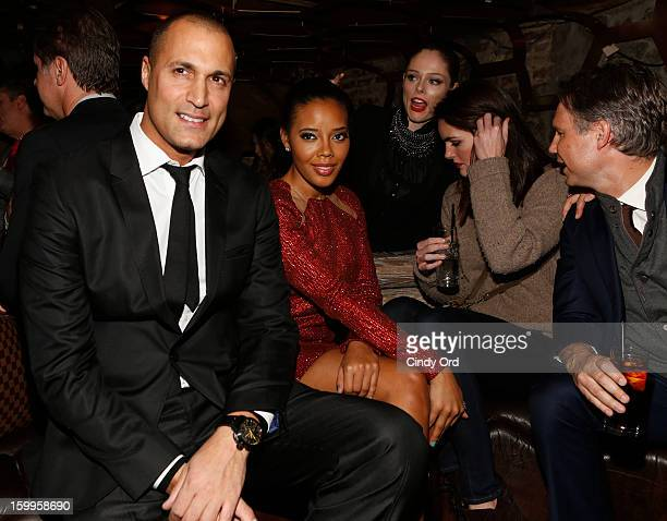 Nigel Barker Angela Simmons Coco Rocha Hilary Rhoda and Jason Binn attend DuJour Magazine Gala with Coco Rocha and Nigel Barker presented by TW Steel...