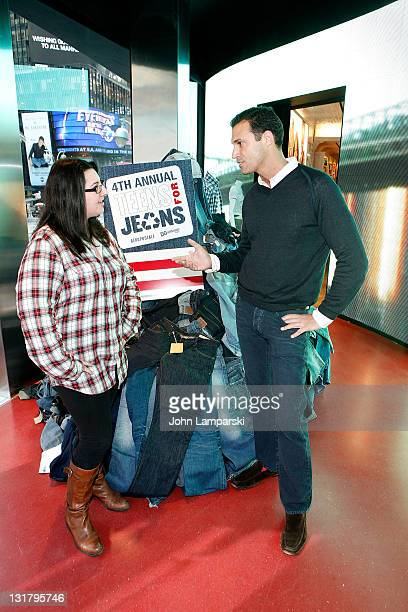 Nigel Barker attends DoSomethingorg's 4th Annual Teens for Jeans initiative event at Aeropostale on February 9 2011 in New York City