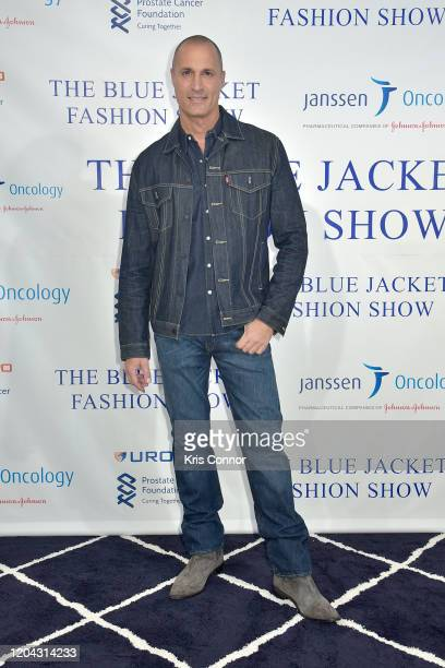 Nigel Barker attends The Blue Jacket Fashion Show during NYFW at Pier 59 Studios on February 05 2020 in New York City