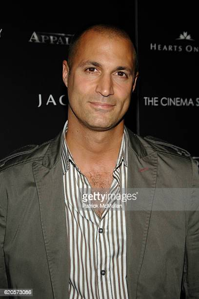 Nigel Barker attends THE CINEMA SOCIETY  VANITY FAIR host a screening of 'APPALOOSA' at Tribeca Grand Hotel on September 9 2008 in New York City