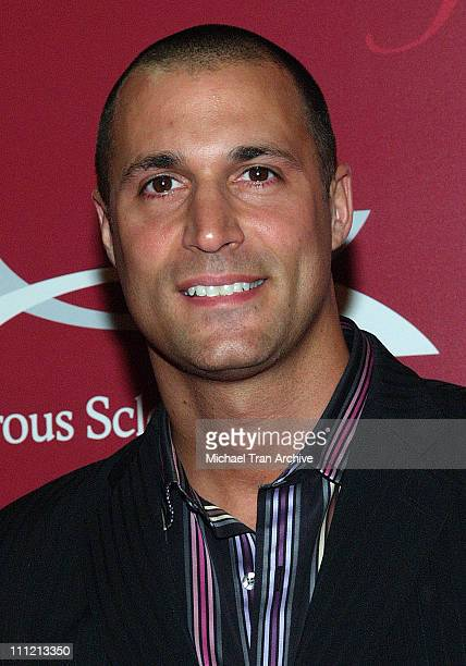 Nigel Barker during Frederick's of Hollywood 2006 Spring Collection Fashion Show at The Avalon in Hollywood California United States