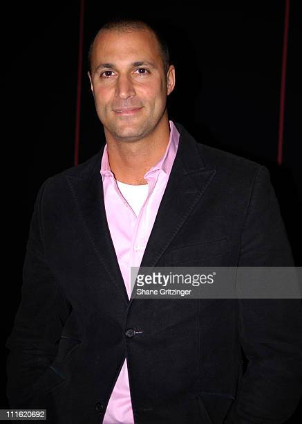 Nigel Barker during MercedesBenz Fashion Week Fall 2007 Seen Around Bryant Park Day 9 at Bryant Park in New York City New York United States